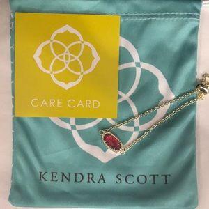 NWT. Kendra Scott Elaina bracelet. October stone.